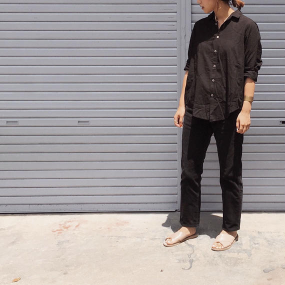 Amami Dyed Shirts - Mud