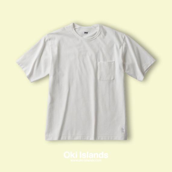 S/S Brushed Pocket Tee / Oki islands ホワイト(W)