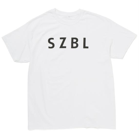 SZBL TEE(WHITE × BLACK)
