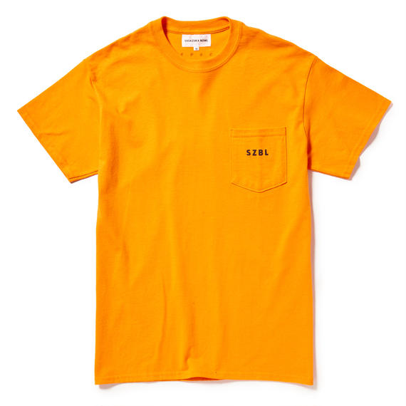 SZBL PK TEE( SECURITY ORANGE × BLACK )