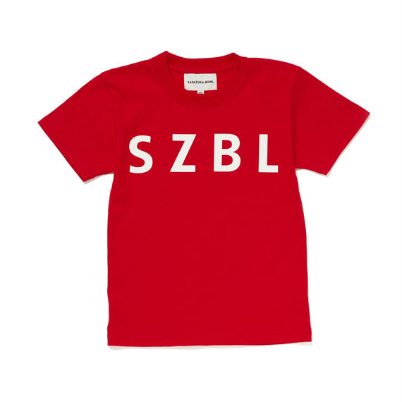 SZBL KIDS TEE( RED × WHITE )