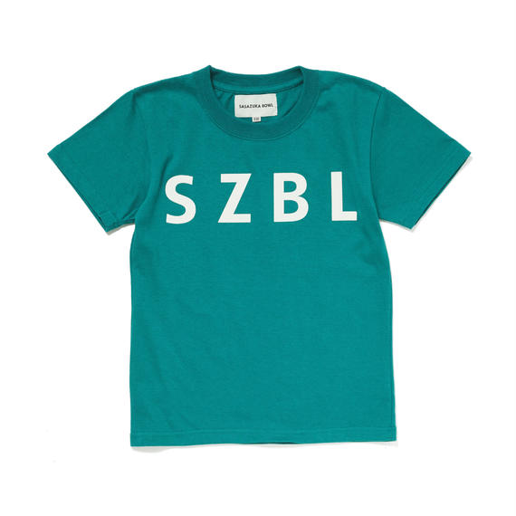 SZBL KIDS TEE( GREEN × WHITE )