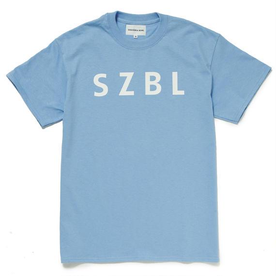 SZBL TEE( SKY BLUE × WHITE )