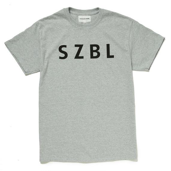 SZBL TEE( H.GRAY × BLACK )
