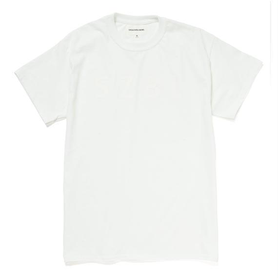 SZBL TEE( WHITE × WHITE )