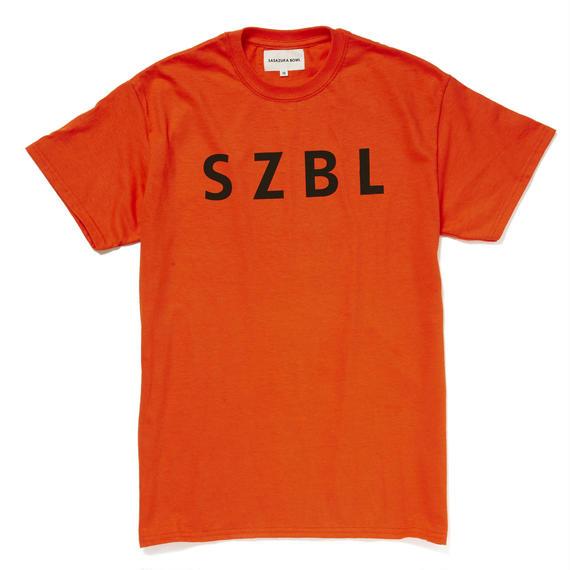 SZBL TEE( ORANGE × BLACK )