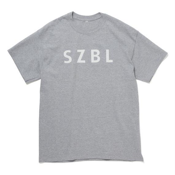 SZBL TEE(H.GREY × WHITE)