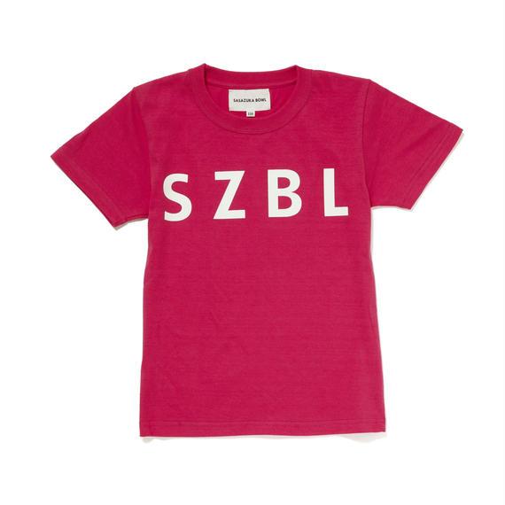 SZBL KIDS TEE( PINK × WHITE )