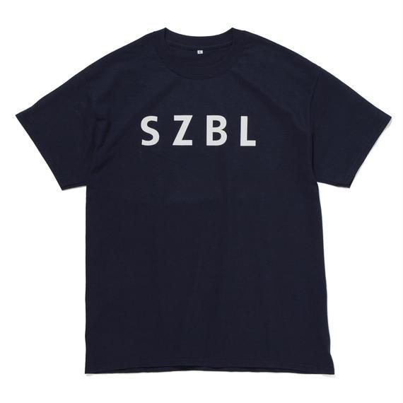 SZBL TEE( NAVY × WHITE)