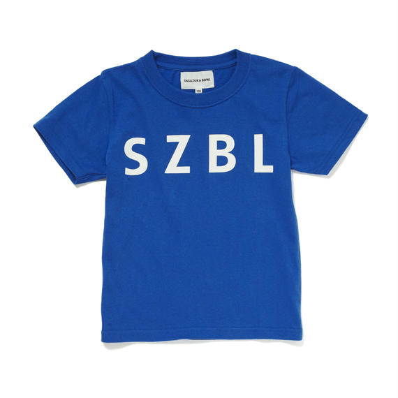 SZBL KIDS TEE( BLUE × WHITE )