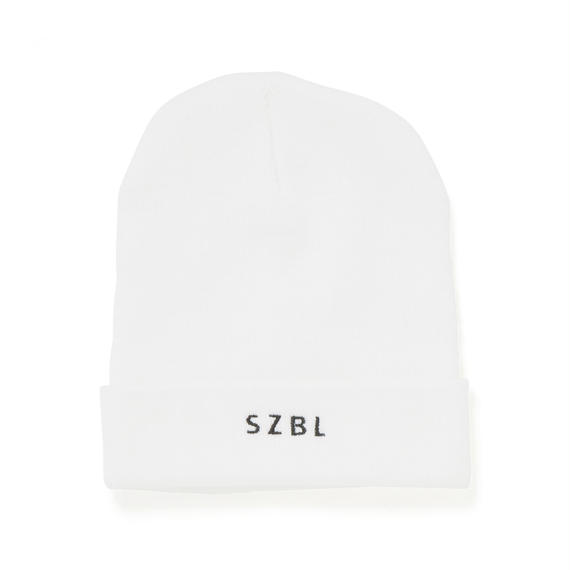 SZBL KNIT CAP(WHITE)