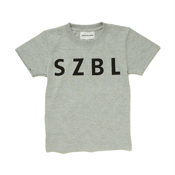 SZBL KIDS TEE( H.GRAY × BLACK )
