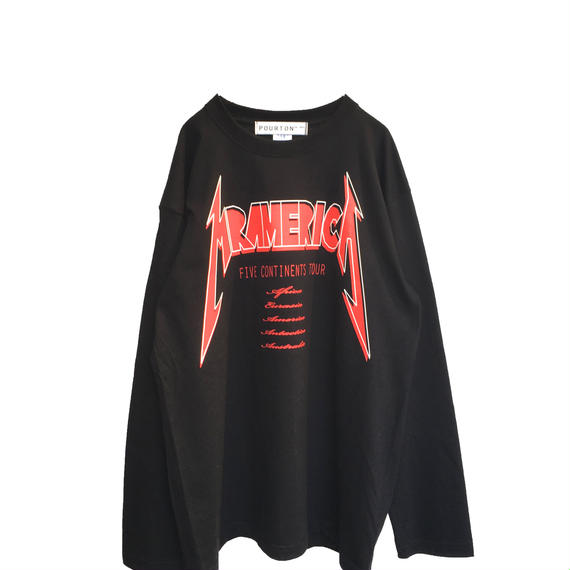 METAL BAND TOUR L/S TEE
