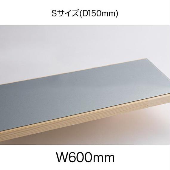 鉄脚Sサイズ用天板プレート付(W600mm:S1860PS)