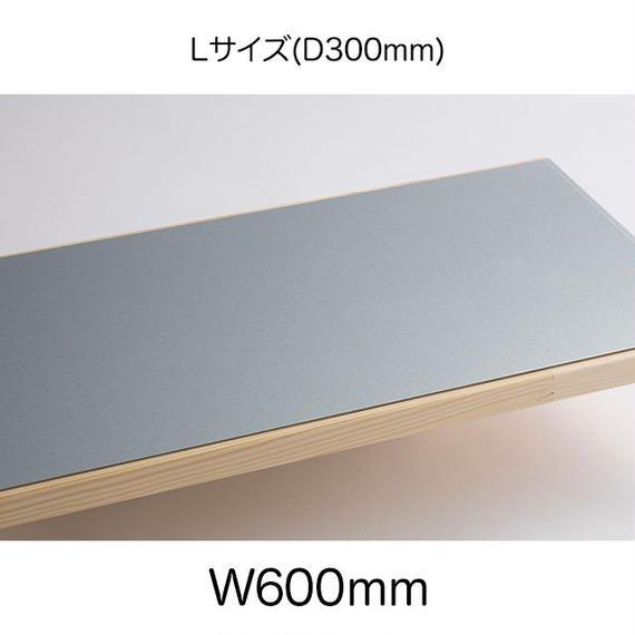 鉄脚Lサイズ用天板プレート付(W600mm:L1860PL)