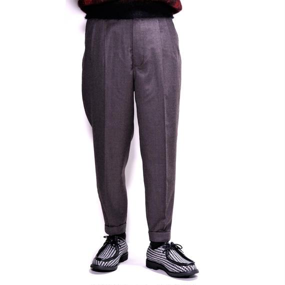 UNITUS 2Tuck Pants(Gray Beige)