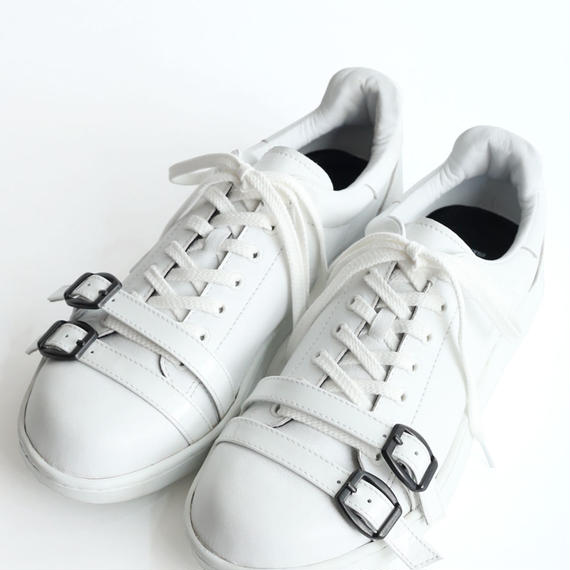SHAREEF LEATHER SNEAKER(White)