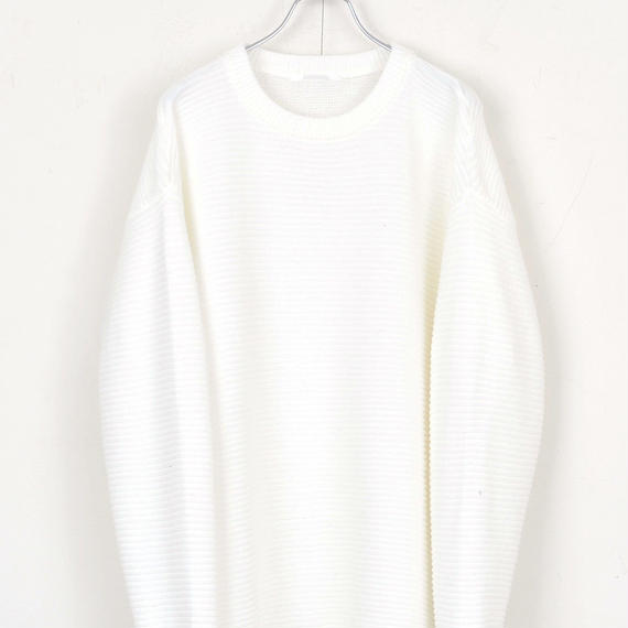DISCOVERED CREWNECK KNIT(WHITE)