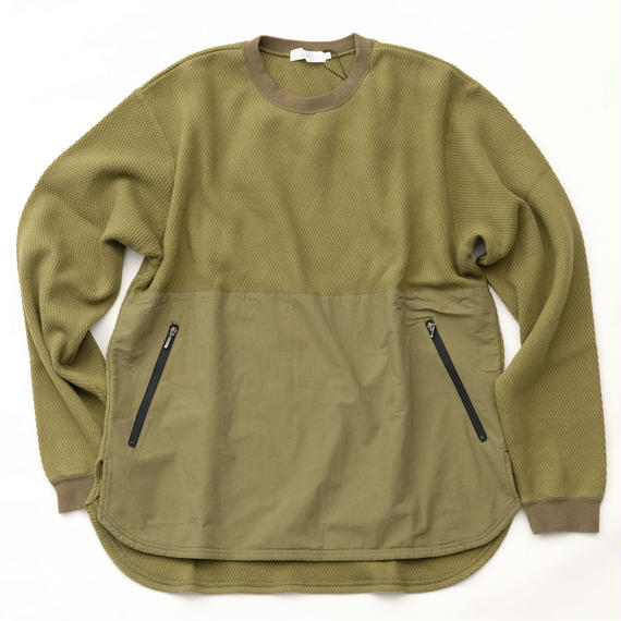 RICEMAN Waffle Sweater