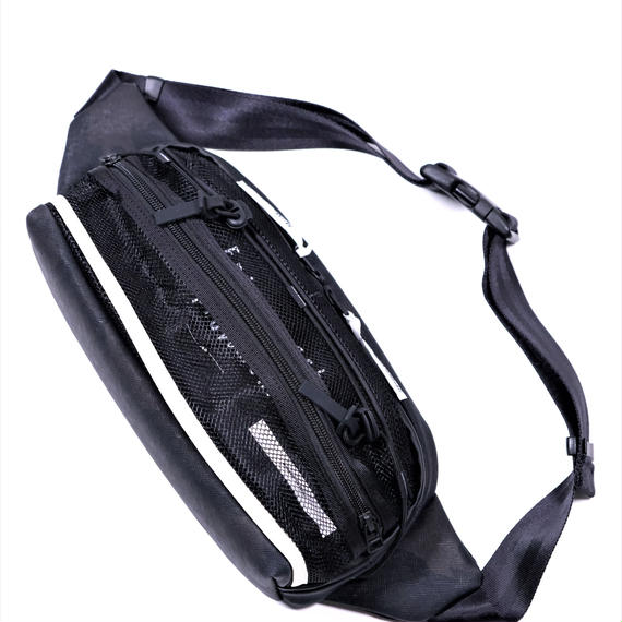 MofM×master-piece Collaboration Series Waistbag(BLACK)