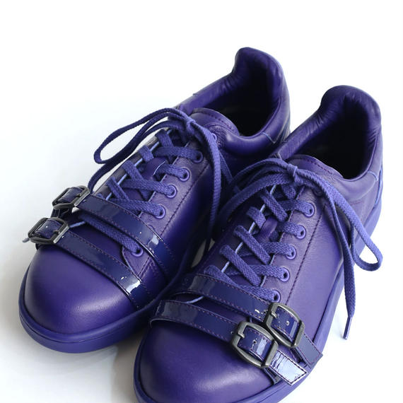 SHAREEF LEATHER SNEAKER(Cobalt Blue)