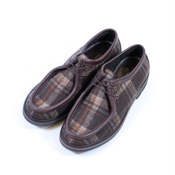 42ND ROYAL HIGHLAND チロリアンシューズ Tartan(ORANGE COMBI)