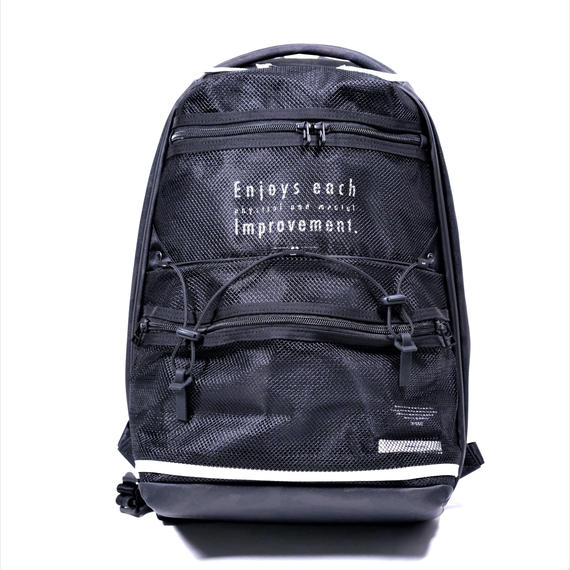 MofM×master-piece Collaboration Series Backpack(BLACK)