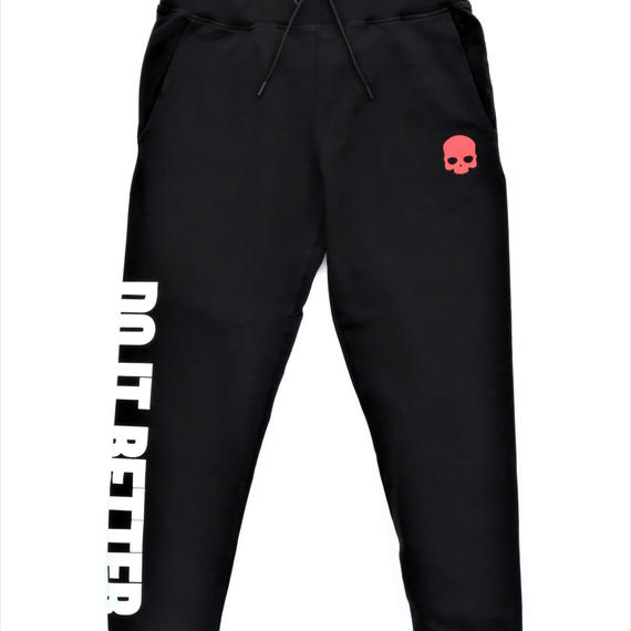 HYDROGEN DO IT BETTER SWEATPANTS(BLACK)