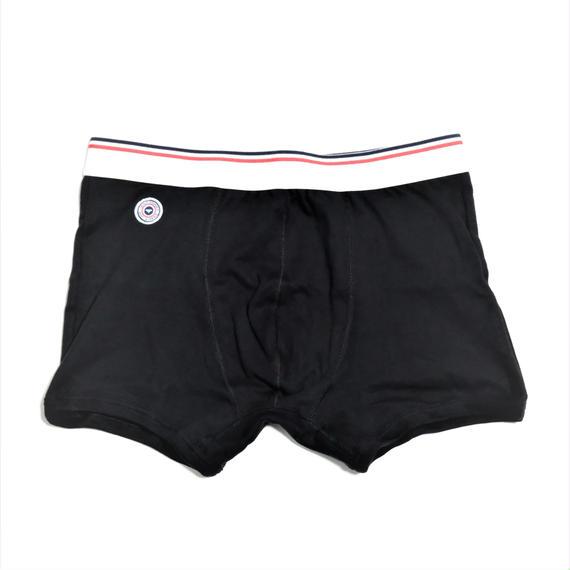 Le Slip Francais Permanent Cotton Boxer Briefs(Black)