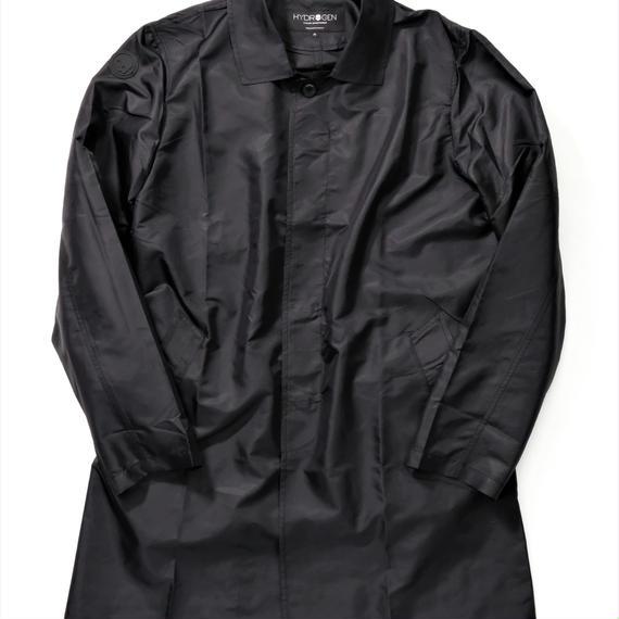 HYDROGEN HEXAGON TRENCH COAT(BLACK)