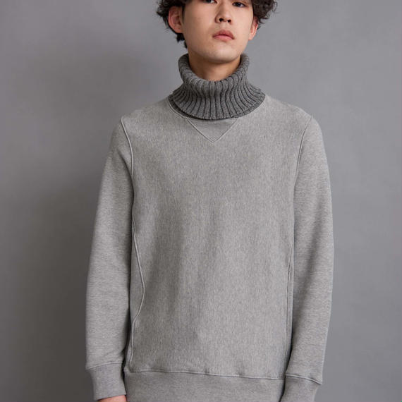 DISCOVERED KNIT TURTLE SWEAT