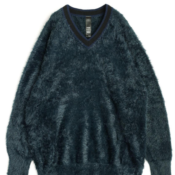 SHAREEF LONG SHAGGY PULL-OVER