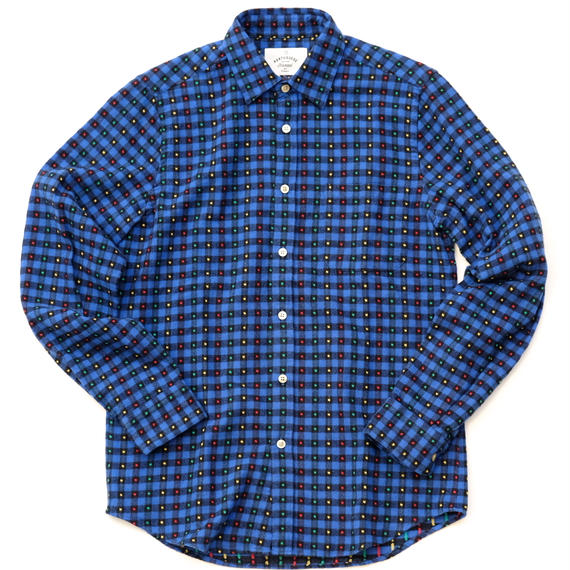 PORTUGUESE Flannel Flannel Shirt(BLUE CHECK)