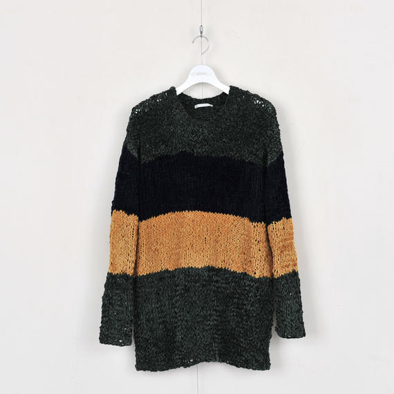 DISCOVERED BORDER KNIT