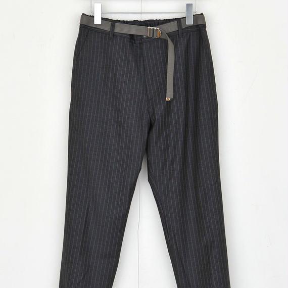 DISCOVERED RIB PANTS(GRAY)
