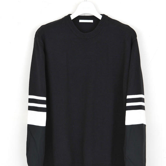 DISCOVERED SHIRT SLEEVE KNIT