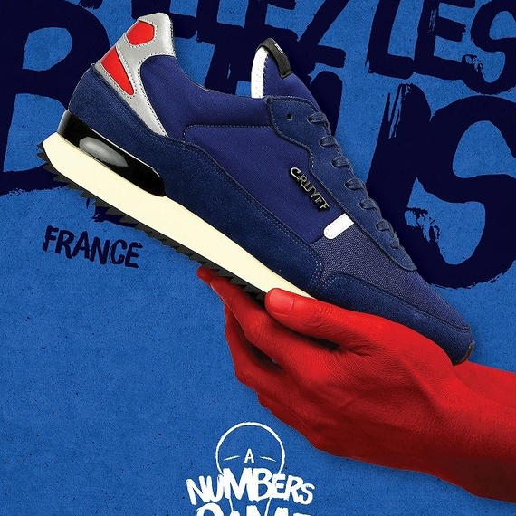 CRUYFF RIPPLE RUNNER LIMITED EDITION OF WORLD CUP【FRANCE】(BRIGHT NAVY)