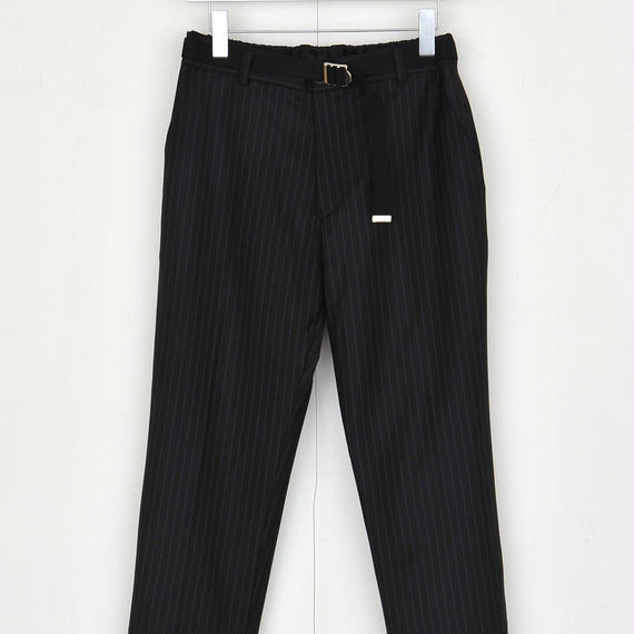 DISCOVERED RIB PANTS(BLACK)