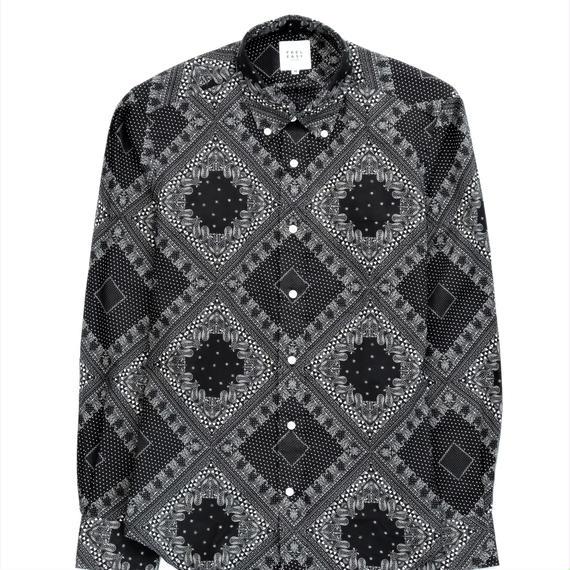 FEEL EASY ORIGINAL ブラックバンダナB.Dシャツ(Black)
