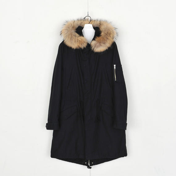 DISCOVERED M-3B Coat(BLACK)