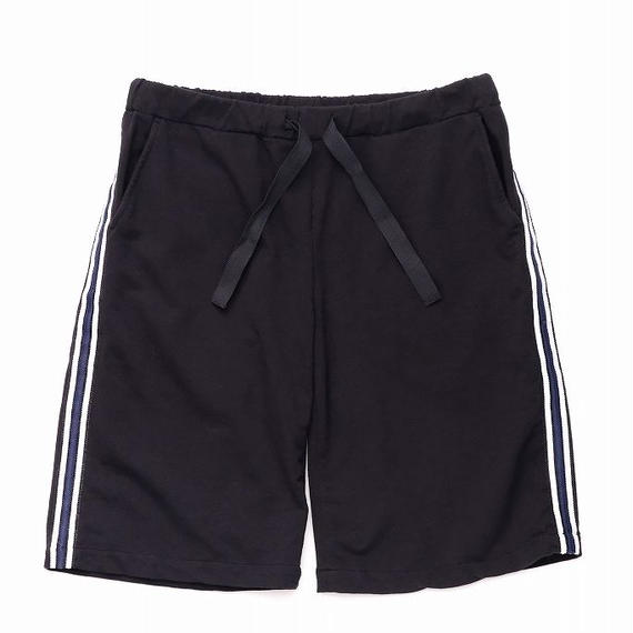 DANIELE ALESSANDRINI SIDE STRIPE SHORT PANTS(BLACK)