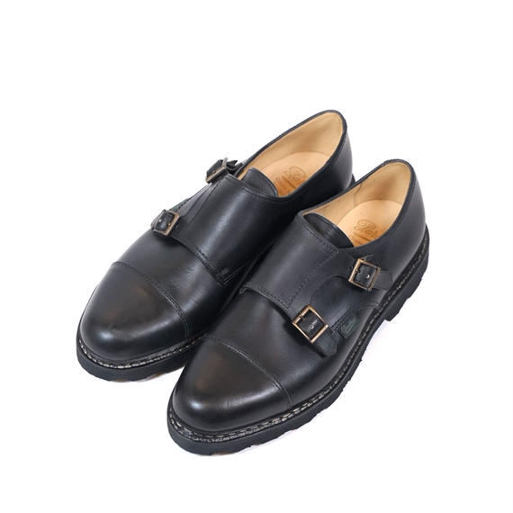 Paraboot WILLIAM Cuir Lisse(Noir)