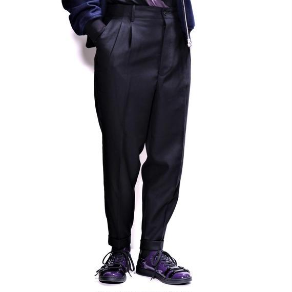 UNITUS 2Tuck Pants(Black)