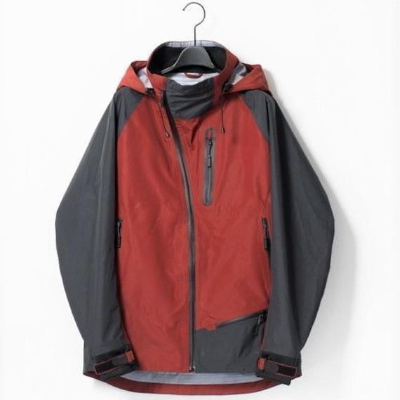 MofM(man of moods) Original 3L Medium weight extreme shell Jacket(WINE)