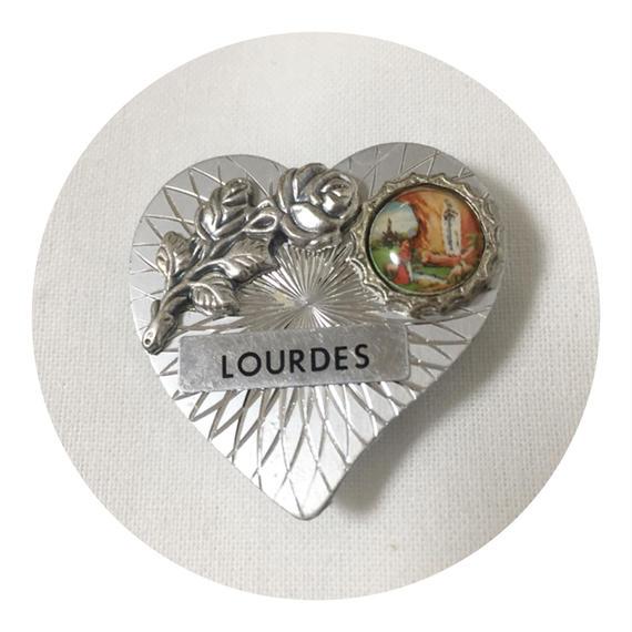 Lourdes Medallion Magnet