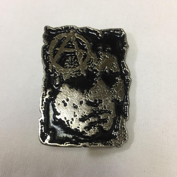 Discharge Metal Badge-A