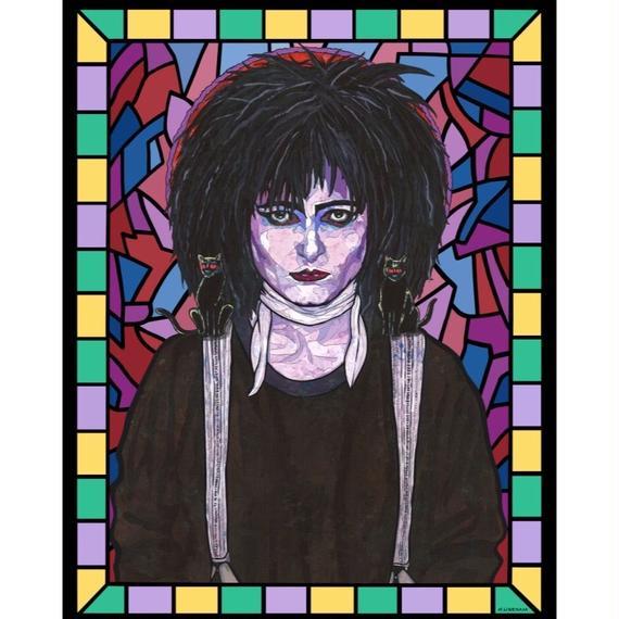 Matthew Lineham/Saint Siouxsie Sioux(Siouxsie and the Banshees)