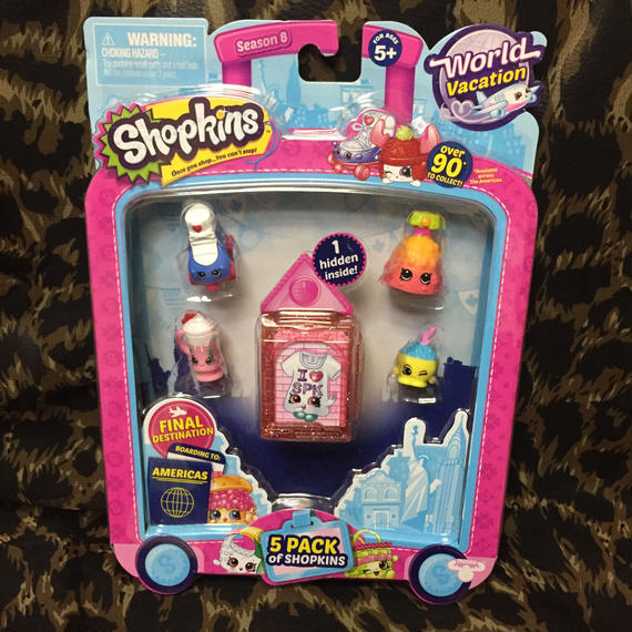 Shopkins World Vacation America