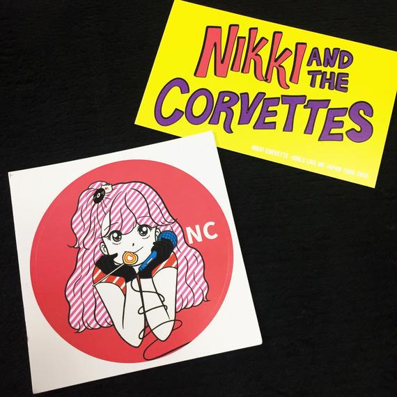 Nikki Corvette Sticker