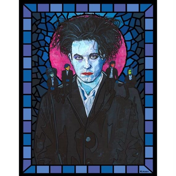 Matthew Lineham/Saint Robert Smith(The Cure)